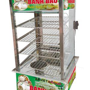 Tủ trưng bày hấp nóng giữ nhiệt bánh bao An VIệt