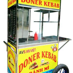 Xe nướng bánh mì thổ nhĩ kỳ Doner Kebab An Việt