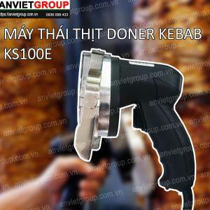 Máy dao cắt thái thịt nướng Doner Kebab Thổ Nhĩ Kỳ KS100E An Việt