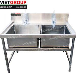 Chậu rửa inox công nghiệp An Việt
